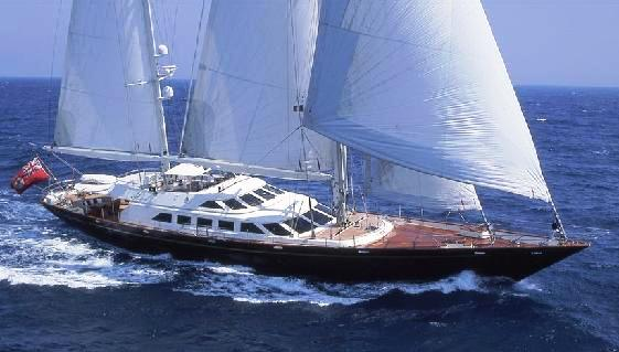 Sailing yacht Ellen V
